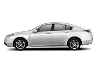 Palladium Metallic 2010 Acura TL Pictures TL Sedan 4D AWD photos side view