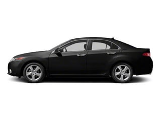 Crystal Black Pearl 2010 Acura TSX Pictures TSX Sedan 4D photos side view