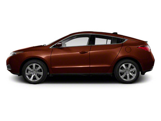 Ionized Bronze Metallic 2010 Acura ZDX Pictures ZDX Utility 4D Technology AWD photos side view