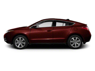 Dark Cherry Pearl 2010 Acura ZDX Pictures ZDX Utility 4D Technology AWD photos side view