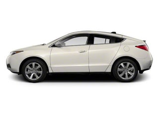 Aspen White Pearl 2010 Acura ZDX Pictures ZDX Utility 4D Technology AWD photos side view
