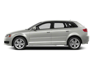 Ice Silver Metallic 2010 Audi A3 Pictures A3 Hatchback 4D 2.0T Quattro photos side view