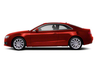Misano Red Pearl 2010 Audi A5 Pictures A5 Coupe 2D Quattro Prestige photos side view