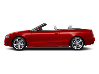 Brilliant Red 2010 Audi A5 Pictures A5 Convertible 2D S-Line Quattro photos side view