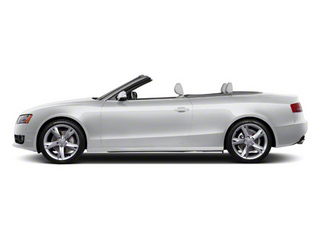 Ice Silver Metallic 2010 Audi A5 Pictures A5 Convertible 2D S-Line Quattro photos side view