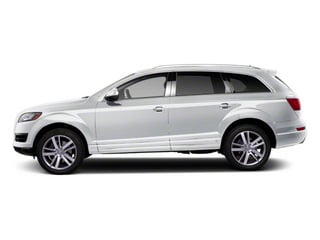 Ice Silver Metallic 2010 Audi Q7 Pictures Q7 Utility 4D 4.2 Prestige S-Line AWD photos side view