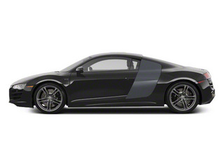Lava Gray Pearl With Quartz Gray Sideblades 2010 Audi R8 Pictures R8 2 Door Coupe Quattro 5.2l (manual) photos side view