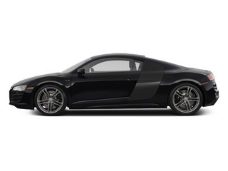 Phantom Black Pearl With Lava Gray Sideblades 2010 Audi R8 Pictures R8 2 Door Coupe Quattro 5.2l (manual) photos side view
