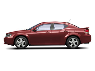 Inferno Red Crystal Pearl 2010 Dodge Avenger Pictures Avenger Sedan 4D R/T photos side view