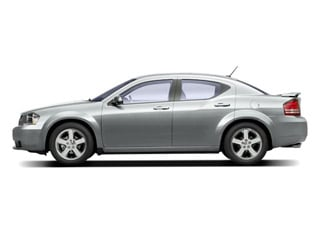Bright Silver Metallic 2010 Dodge Avenger Pictures Avenger Sedan 4D R/T 2.7 photos side view