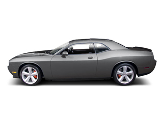 Dark Titanium Metallic 2010 Dodge Challenger Pictures Challenger Coupe 2D R/T photos side view