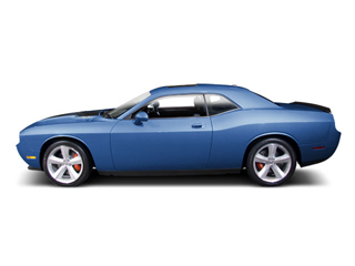 B5 Blue Pearl 2010 Dodge Challenger Pictures Challenger Coupe 2D SRT-8 photos side view