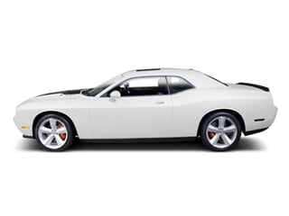 Stone White 2010 Dodge Challenger Pictures Challenger Coupe 2D R/T photos side view