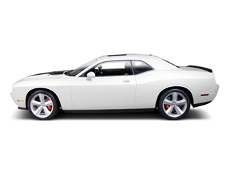 Bright White 2010 Dodge Challenger Pictures Challenger Coupe 2D R/T photos side view