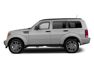 Bright Silver Metallic 2010 Dodge Nitro Pictures Nitro Utility 4D Shock 2WD photos side view