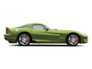 Viper Snakeskin Green Pearl 2010 Dodge Viper Pictures Viper 2 Door Coupe photos side view