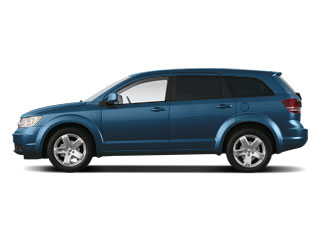 Deep Water Blue Pearl 2010 Dodge Journey Pictures Journey Utility 4D R/T AWD photos side view