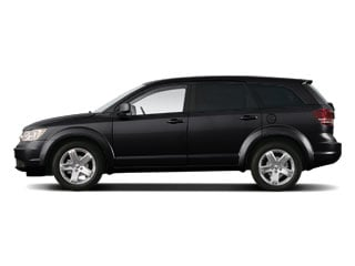 Brilliant Black Pearl 2010 Dodge Journey Pictures Journey Utility 4D R/T AWD photos side view