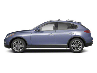 Blue Slate Metallic 2010 INFINITI EX35 Pictures EX35 Wagon 4D AWD photos side view