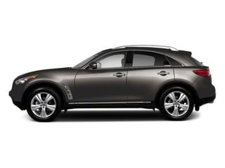 Platinum Graphite 2010 INFINITI FX35 Pictures FX35 FX35 2WD photos side view