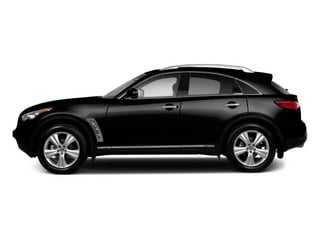 Black Obsidian 2010 INFINITI FX35 Pictures FX35 FX35 2WD photos side view