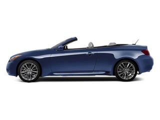 Athens Blue 2010 INFINITI G37 Convertible Pictures G37 Convertible Convertible 2D 6 Spd photos side view