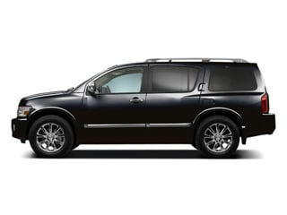 Liquid Onyx Metallic 2010 INFINITI QX56 Pictures QX56 Utility 4D 2WD photos side view