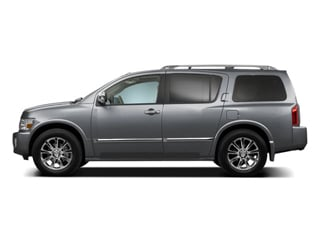 Silver Graphite Metallic 2010 INFINITI QX56 Pictures QX56 Utility 4D 2WD photos side view