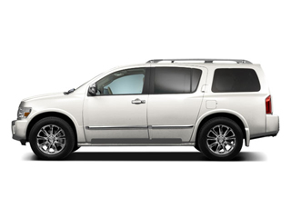 Tuscan Pearl Metallic 2010 INFINITI QX56 Pictures QX56 Utility 4D AWD photos side view