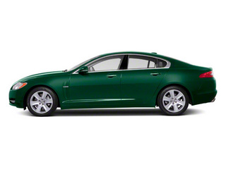Botanical Green 2010 Jaguar XF Pictures XF Sedan 4D Supercharged photos side view