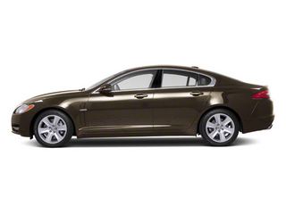 Winter Gold 2010 Jaguar XF Pictures XF Sedan 4D Supercharged photos side view