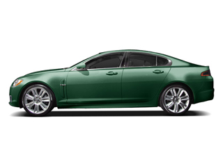 Botanical Green 2010 Jaguar XF Pictures XF Sedan 4D XFR Supercharged photos side view