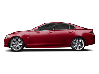 Claret 2010 Jaguar XF Pictures XF Sedan 4D Luxury photos side view