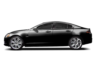 Ebony 2010 Jaguar XF Pictures XF Sedan 4D Luxury photos side view