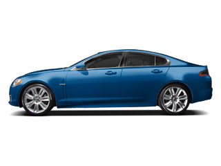 Kyanite Blue 2010 Jaguar XF Pictures XF Sedan 4D XFR Supercharged photos side view