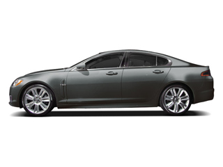 Lunar Grey 2010 Jaguar XF Pictures XF Sedan 4D XFR Supercharged photos side view