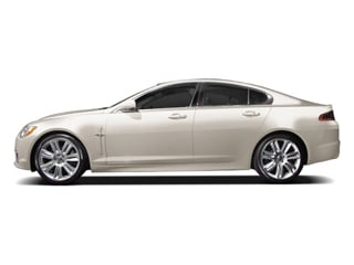 Porcelain 2010 Jaguar XF Pictures XF Sedan 4D XFR Supercharged photos side view