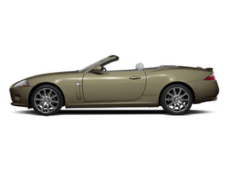 Winter Gold 2010 Jaguar XK Pictures XK Convertible XKR Supercharged photos side view