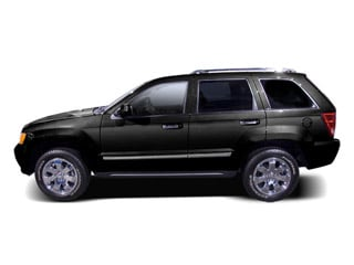 Brilliant Black Crystal Pearl 2010 Jeep Grand Cherokee Pictures Grand Cherokee Utility 4D Laredo 2WD photos side view