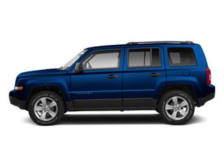 Deep Water Blue Pearl 2010 Jeep Patriot Pictures Patriot Utility 4D Sport 2WD photos side view