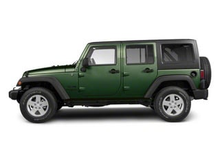 Natural Green Pearl 2010 Jeep Wrangler Unlimited Pictures Wrangler Unlimited Utility 4D Unlimited Sport 4WD photos side view