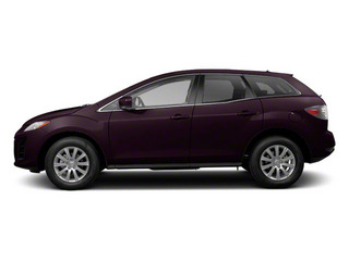 Black Cherry Mica 2010 Mazda CX-7 Pictures CX-7 Wagon 4D S AWD photos side view