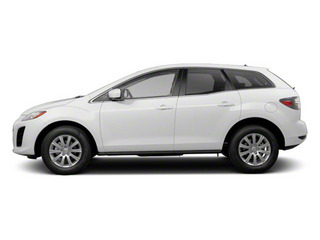 Crystal White Pearl Mica 2010 Mazda CX-7 Pictures CX-7 Wagon 4D S AWD photos side view