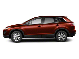 Copper Red Mica 2010 Mazda CX-9 Pictures CX-9 Utility 4D Touring AWD photos side view