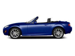 Stormy Blue Mica 2010 Mazda MX-5 Miata Pictures MX-5 Miata Convertible 2D GT photos side view