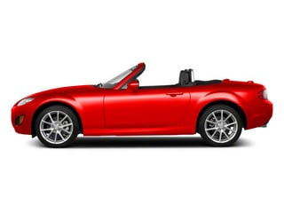 True Red 2010 Mazda MX-5 Miata Pictures MX-5 Miata Convertible 2D GT photos side view
