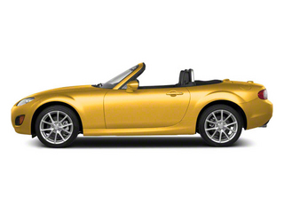 Competition Yellow 2010 Mazda MX-5 Miata Pictures MX-5 Miata Convertible 2D GT photos side view