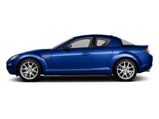 Aurora Blue Mica 2010 Mazda RX-8 Pictures RX-8 Coupe 2D R3 (6 Spd) photos side view