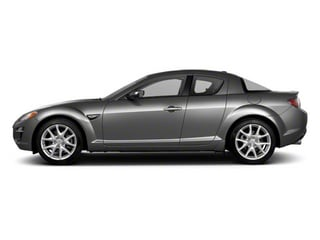 Liquid Silver Metallic 2010 Mazda RX-8 Pictures RX-8 Coupe 2D photos side view