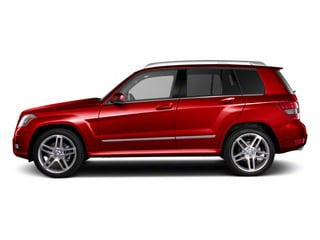 Mars Red 2010 Mercedes-Benz GLK-Class Pictures GLK-Class Utility 4D GLK350 AWD photos side view